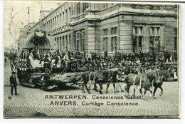CPA - Carte Postale - Belgique - Anvers -  Cortège Conscience - 1912 (CP2116) - Antwerpen