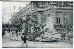 CPA - Carte Postale - Belgique - Anvers -  Cortège Conscience - Char Du Baptême De Clovis à Reims - 1912 (CP2119) - Antwerpen