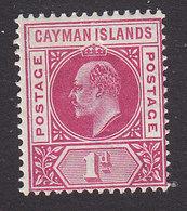 Cayman Islands, Scott #4, Mint Hinged, Edward VII, Issued 1900 - Cayman Islands