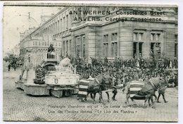 CPA - Carte Postale - Belgique - Anvers -  Cortège Conscience - Char Des Flandres Libérées - 1912 (CP2120) - Antwerpen