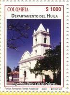 Lote 19r5, Colombia, 2003, Departamento De Huila, Iglesia Ntra Señora De Los Dolores, Church - Colombia