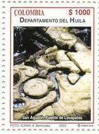Lote 19r6, Colombia, 2003, Departamento De Huila, San Agustin, Fuente De Lavapatas, Indigenous Construction - Colombia