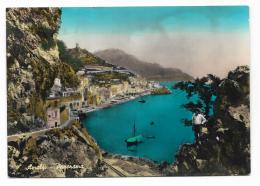 AMALFI - PANORAMA-  VIAGGIATA FG - Salerno