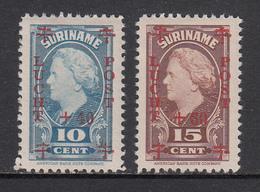 Suriname MLH NVPH Nr LP27/LP28 From 1946 / Catw 5.00 EUR - Suriname