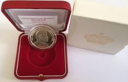 Monaco 2012 10 Euro Silver HONORE II,  Auflage 6500. Mit Schatule Und Zertif. - Monaco