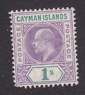 Cayman Islands, Scott #15, Mint Hinged, Edward VII, Issued 1907 - Cayman Islands
