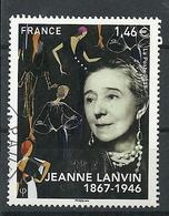 FRANCIA 2017 - Jean Lanvin - Cachet Rond - Frankreich