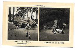 CHROMO - FONTAINEBLEAU - Caverne Des Brigands - Non Classés