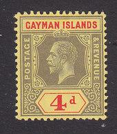 Cayman Islands, Scott #38, Mint Hinged, George V, Issued 1912 - Cayman Islands