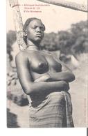 C P A   SENEGAL  AFRIQUE OCCIDENTALE   Fille Soussou Aux Seins Nus  N°78 - Senegal