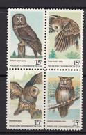 USA MNH Michel Nr 1358/61 From 1978 / Catw 2.20 EUR - Verenigde Staten
