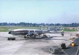 Iberia Airlines Costellation EC-AIN Lockheed At Manchester - 1946-....: Era Moderna