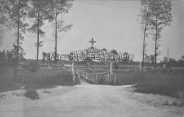 CARTE PHOTO  ALLEMANDE  GUNY 1916 KRANKENSAMMELSTELLE - France