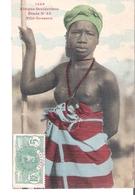 C P A   SENEGAL  AFRIQUE OCCIDENTALE   Fille Soussou Aux Seins Nus  N°45 - Senegal
