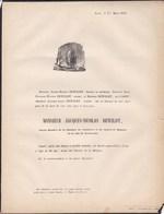 MAESTRICHT LIEGE Jacques-Nicolas DEWILDT 80 Ans 1855 Ancien Conseiller De Régence Et Chambre De Commerce Maestricht - Avvisi Di Necrologio