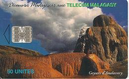 CARTE+ PUCE-50U--SC7-MADAGACAR-GEYSERS D ANALAVORY-Série 250000ex-TBE - Madagascar