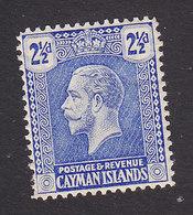 Cayman Islands, Scott #55, Mint Hinged, George V, Issued 1921 - Cayman Islands