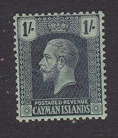 Cayman Islands, Scott #59, Mint Hinged, George V, Issued 1921 - Cayman Islands