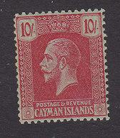 Cayman Islands, Scott #63, Mint Hinged, George V, Issued 1921 - Cayman Islands