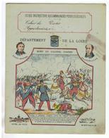JM19.04 / PROTEGE- CAHIERS - / DEPARTEMENT DE LA LOIRE - MORT DU COLONEL COMBES - Book Covers