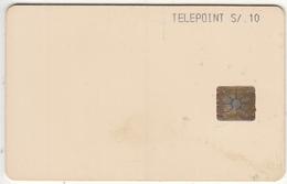 PERU - Telepoint Test Card S/.10, Chip THO21, Used - Peru