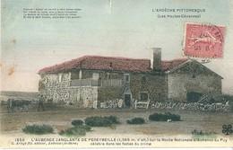07  L' AUBERGE SANGLANTE  DE  PEREYBEILLE  , ( état ) - France