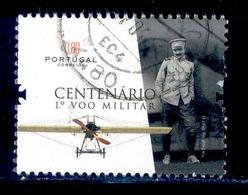 ! ! Portugal - 2016 1st Military Flight 0.80 - Af. ---- - Used - 1910-... Republic
