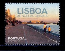 ! ! Portugal - 2016 Lisboa 0.75 - Af. ---- - Used - 1910-... Republic