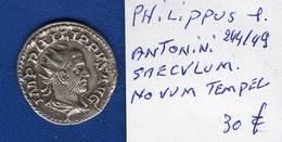 Philippus 1 Er 244/49  Antonini Tempel - 5. L'Anarchie Militaire (235 à 284)