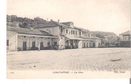 C P A  ALGERIE    CONSTANTINE  La Gare - Algérie