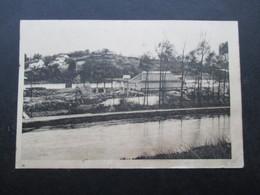 CP BELGIQUE (V1802C) ITTRE? (2 Vues) Verreries De FAUQUEZ Scierie - Ittre