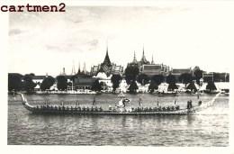 "THAILANDE THAILAND BANGKOK THE GILT STATE-BARGE "" SUWANHANSE "" ROYAL PROCESSION KING ROI DE THAILANDE - Thailand"