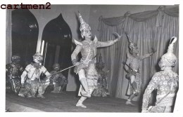 THAILANDE THAILAND BANGKOK THE KHON THAI CLASSICAL DANCE TRADITIONAL COSTUMES MUSICAL INSTRUMENT - Thaïlande