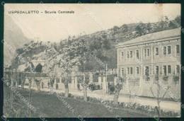 Udine Ospedaletto Gemona Scuola Comunale Cartolina RB9585 - Udine
