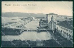 Grosseto Orbetello Controfossi Vecchio Ponte Levatoio Cartolina RB9589 - Grosseto