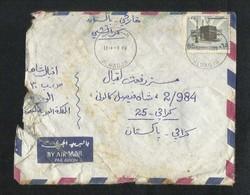 Saudi Arabia 1984 Air Mail Postal Used Cover AL WADJH To Pakistan - Saudi Arabia