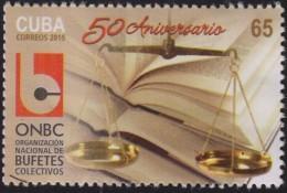 RO) 2015 CUBA-CARIBE, SYMBOL OF JUSTICE NATIONAL ORGANIZATION OF LAW FIRMS - ONBC - Cuba