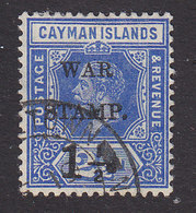 Cayman Islands, Scott #MR2, Used, George V Surcharged, Issued 1917 - Cayman Islands
