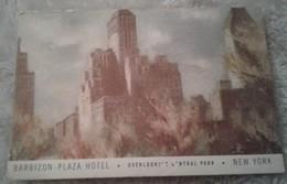 America - New York - Barbizon Plaza Hotel - Overlooking Central Park - Bars, Hotels & Restaurants