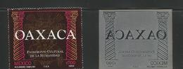 M) 1990 MEXICO, PRINTING PLATE OF THE STATE OF OAXACA, WITH A AZTEC SYMBOL IN THE FUND, AND TWO PILLARS ON THE SIDES, MA - Mexico