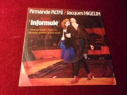 ARMANDE ALTAI  / JACQUES HIGELIN   ° INFORMULE - Vinyl Records