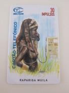 ANG-1  First Issued, Rapariga Muila, Mint - Angola