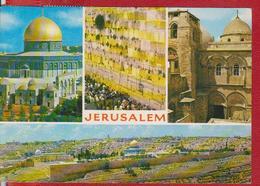 JERUSALEM ISRAEL POSTCARD USED - Israel