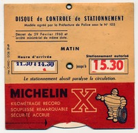 Disque De Stationnement  Michelin X - Voitures