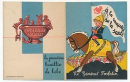 """Petit Calendrier Publicitaire """"Le Général Fosfatin"""" - A La Conquète De La Santé - Phosphatines Falières - 1932 - Calendars"""