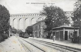 13)  ROQUEFAVOUR  - La Gare - Roquefavour