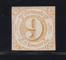 Ziffer 9 Kr., **,gepr. Dr. Reum - Tour Et Taxis