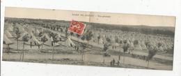 DOUBLE CP , Camp De MAILLY , Voyagée , Ed. Bazar Militaire A. Nieps - Caserme