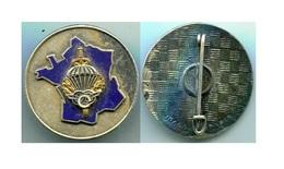 H729 PARA Section De Saut En Vol, Dos Guilloché Plat, - Landmacht