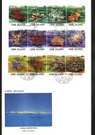 COOK IS 1980 Coral Definitives FDC.........90337 - Cook Islands